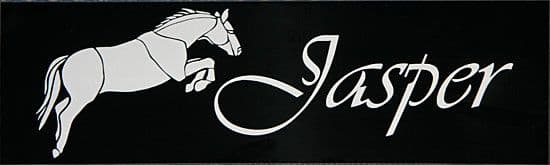 Stable Door Name Plates - Maintenance Free | The Sign Maker Shop